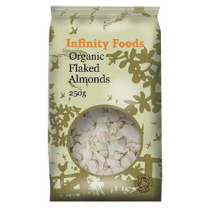Infinity Foods Organic Almonds (flaked)