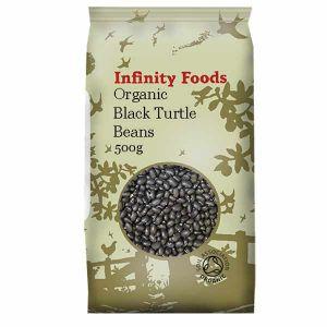 Infinity Foods Organic Black Turtle Beans