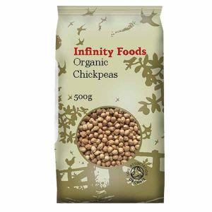 Infinity Foods Organic Chickpeas