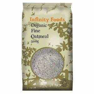 Infinity Foods Organic Fine Oatmeal 500g