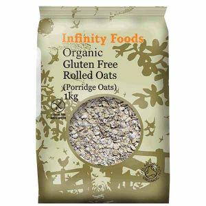 Infinity Foods Organic Gluten Free Porridge Oats 1kg
