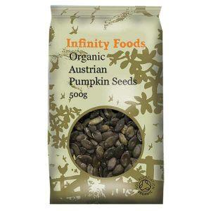 Infinity Foods Organic Austrian Pumpkin Seeds 500g
