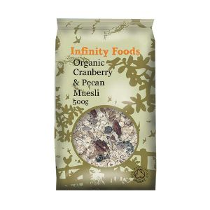 Infinity Foods Organic Cranberry Pecan Muesli 500g