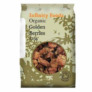 Infinity Foods Organic Golden Berries 125g