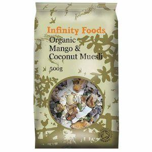 Infinity Foods Organic Mango Coconut Muesli 500g