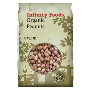 Infinity Foods Organic Shelled Peanuts