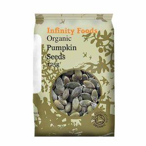 Infinity Foods Organic Pumpkin Seeds
