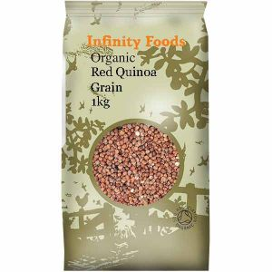 Infinity Foods Organic Red Quinoa 1kg