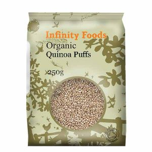 Inifnity Organic Quinoa Puffs