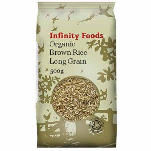 Infinity Foods Organic Brown Rice Long Grain