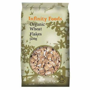 Infinity Foods Organic Wheat Flakes