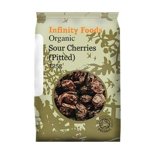 Infinity Foods Organic Sour Cherries Pitted 125g