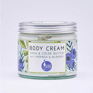 Laughing Bird Shea & Cocoa Butter Body Cream (with Moringa & Bilberry) 250ml