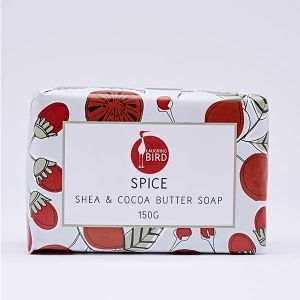 Laughing Bird Spice Soap with Shea and Cocoa Butter 150g