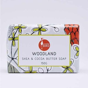 Laughing Bird Woodland Soap with Shea and Cocoa Butter 150g