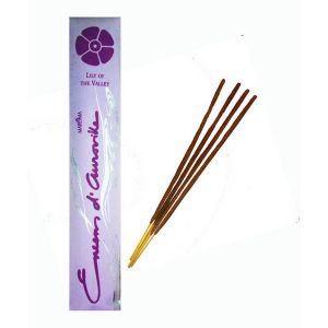 Encens D'auroville Lily Of The Valley 10 Incense Sticks