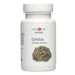 Myco-Nutri Organic Coriolus Mushroom Supplement 500mg 60 Capsules