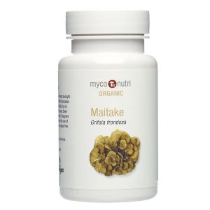 Myco-Nutri Organic Maitake Mushroom Supplement 500mg 60 Capsules