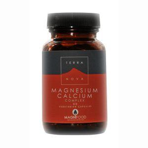 Terranova Magnesium Calcium 2:1 Complex 50 Vegetarian Capsules