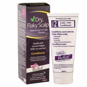 Hopes Relief Dry Flaky Scalp Natural Hair & Scalp Therapy Smoothing Conditioner 200ML