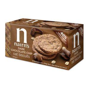 Nairn's Organic Dark Chocolate Chip Oat Biscuts 200g