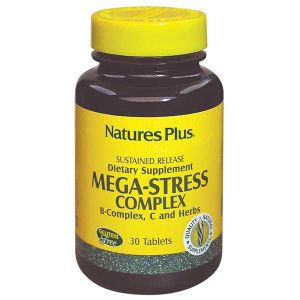 Natures Plus Mega-Stress Complex Sustained Release