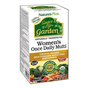 Natures Plus Source of Life Garden Organic Women's Once Daily 30 Tablets