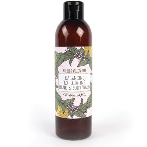 Baldwins Neroli & Willow Bark Balancing Exfoliating Hand & Body Wash 250ml