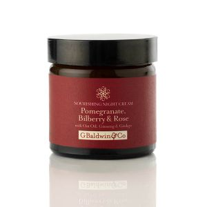 Pomegranate, Bilberry & Rose Nourishing Night Cream 60ml