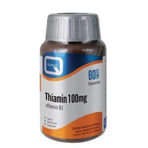 Quest Thiamine (Vitamin B1) 100mg 60 Tablets