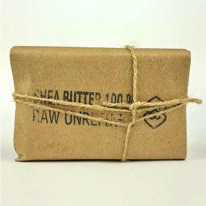 Handmade 100% Raw Unrefined Shea Butter 100g