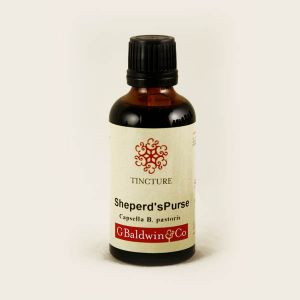 Baldwins Shepherds Purse ( Capsella Bursa Pastoris ) Herbal Tincture