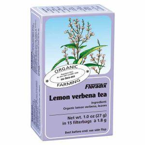 Salus House Organic Lemon Verbena Tea Bags (15 Bags)