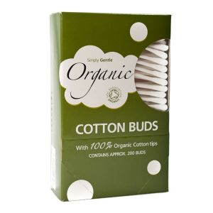 Simply Gentle Organic Cotton Buds (approx 200 Buds)