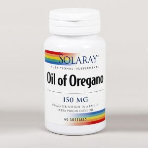 Solaray Oil Of Oregano 150mg 60 Capsules