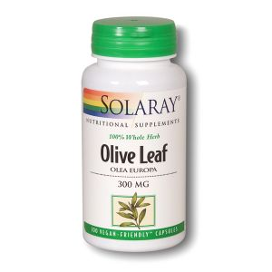Solaray Olive Leaf 300mg 100 Vegecaps