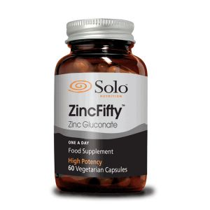 Solo Zincfifty 50mg 60 Vegecaps