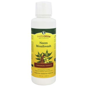 Theraneem Naturals Neem & Cinnamon Mouthwash 480ml