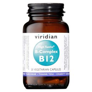 Viridian High Twelve B-complex With B12