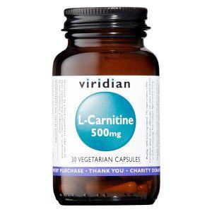 Viridian L-carnitine 500mg