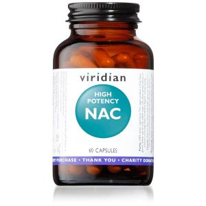 Viridian High Potency NAC 60 vegecaps