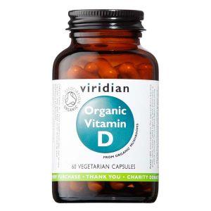 Viridian Organic Vegan Vitamin D2 400IU 60 Capsules