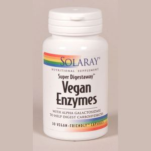 Solaray Vegan Enzymes 30vegecaps