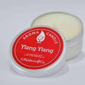 Baldwins Ylang Ylang Aroma Candle 105g