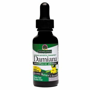 Natures Answer Damiana Leaf Alcohol Free Fluid Extract 30ml