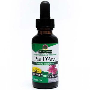 Natures Answer Pau D'Arco Alcohol Free Fluid Extract 30ml