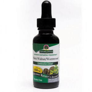 Natures Answer Black Walnut, Clove  & Wormwood Alcohol Free Fluid Extract 30ml