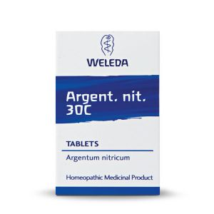 Weleda Homeopathic Argent Nit 125 Tablets 30c