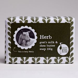 Laughing Bird Herb Soap (with Shea Butter & Goat's Milk) 150g
