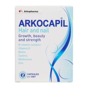 Arkopharma Arkocapil Hair & Nail Capsules (60 2-a-day Capsules)
